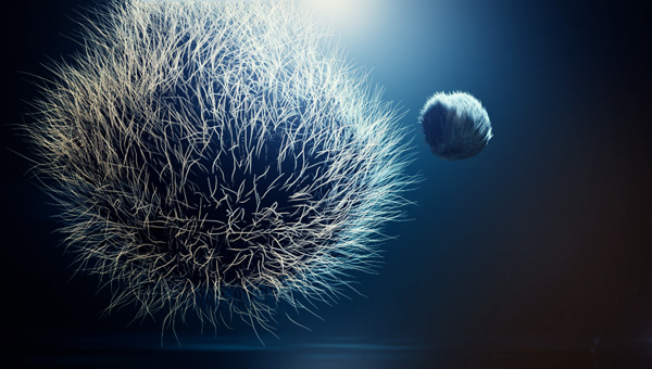 Cinema 4D Hair and fur